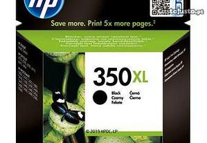 Tinteiro HP 350XL Preto Original Selado