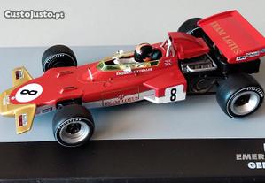 Miniatura 1/43 LOTUS 72D (GP Alemanha 1971) Emerson Fittipaldi