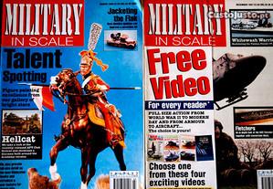 Revistas Military in Scale Modelismo
