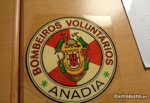 Autocolante Bombeiros Voluntários Anadia Colado