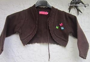 casaco bolero Floribela menina 8 anos