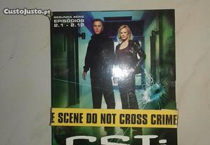 DVD séries CSI 3 cds