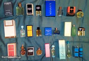 Perfumes em miniatura de coleção
