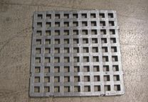 Estrados balneario plastico 500x500x23,5mm Cinza