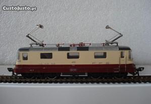 1 Locomotiva e 7 vagões - marca fleichman Para