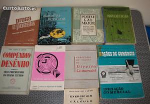 Livros Escolares Antigos - Portes Grátis.