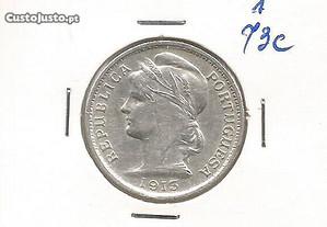Espadim - Moeda de 20 Centavos de 1913 - Mbc-