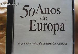 50 Anos de Europa textos da construção europeia