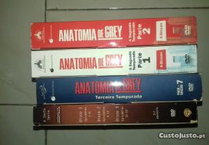 DVD Anatomia de Grey colecção várias temporadas