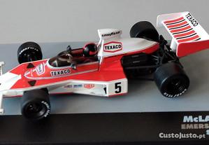 Miniatura 1/43 McLAREN M23 (GP Espanha 1974) Emers