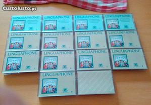 14 cassetes língua phone