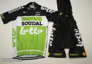 Equipamento Ciclismo Lotto Soudal