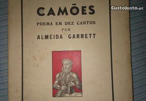 Camões Poema em Dez Cantos - Almeida Garrett