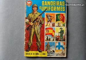 Caderneta de cromos Bandeiras e Uniformes - IBIS
