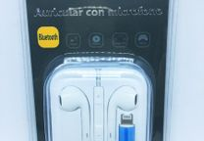 Auriculares com conector lightning para iPhone