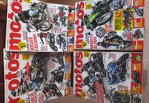 4 revistas - motos