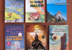 6 Livros Juvenis - Muito Baratos
