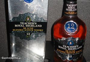 Teachers Royal Higland 12 Anos c caixa