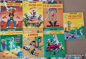 Livros de Banda Desenhada (Lucky Luke e Astérix)