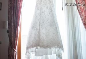 Vestido de noiva marca AIRE Vintage