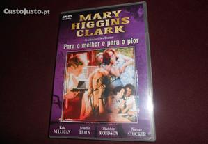 DVD-Para o melhor e para o pior-Mary Higgins Clark