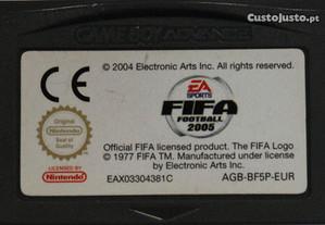Jogo GBA Fifa Football 2005