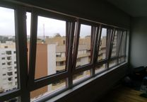 Estores em alumínio manuais/elétricos e janelas