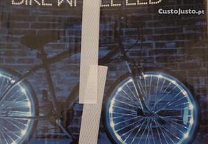 Luzes para Rodas de Bicicleta Novo (Ç62)