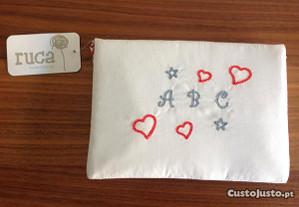 Porta documentos de bebé (da Ruca) -NOVO c/Portes