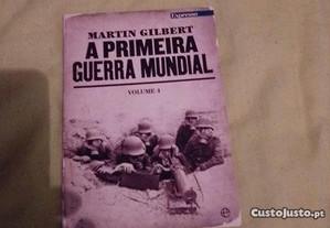 livro martin gilbert a primeira guerra mundial vol 4
