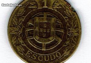 Moeda Portugal 1 Escudo 1924