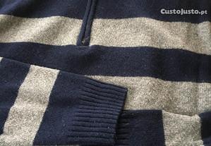 Camisola em lã (tamanho XL) marca Sacoor
