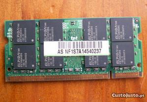 Asus Z53S - 1 memória 1 GB de origem