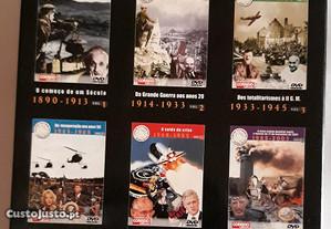 6 DVD's - Crónica Universal do nosso tempo