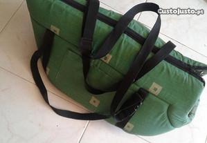 Saco almofadado transporte animais ( cão / gato )