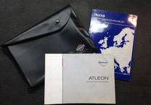 Catalogo / Livro de instruções Nissan Atleon