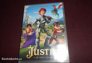DVD-Justin e a espada da coragem