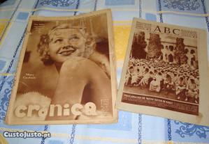 Revistas muito antigas em língua espanhola