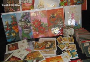 135 Postais de Natal e identificadores de prendas