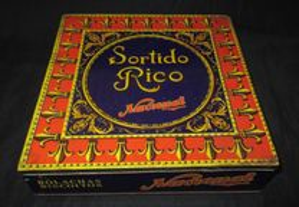 Caixa Sortido Rico Nacional Lata Vintage