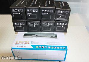 Sistema video vigilancia gravador 8 cameras net