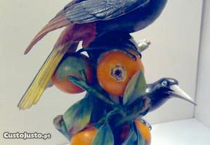 Estatueta da Vista Alegre Pica-Laranjas com 43 cm