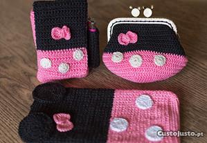 Bolsas Minnie - Conjunto ou individual