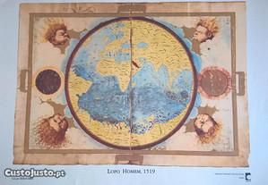 Reproduções de cartografia antiga - portes grátis