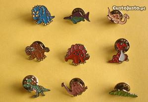Pins de Dinossauros