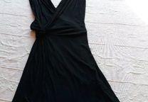 Vestido preto Mango