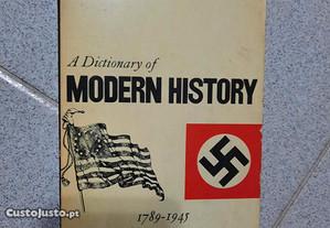 A Dictionary of Modern History (portes grátis)