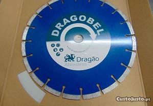 Disco Diamante Dragao D300 H25.4 T2.8 X10 GERAL (G
