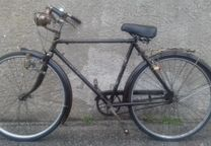 Bicicleta pasteleira de homem Esmaltina