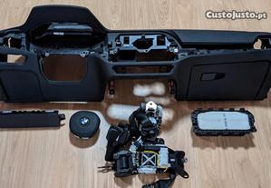 Conjunto Kit Airbags BMW G20 Série 3 Tablier Origi
